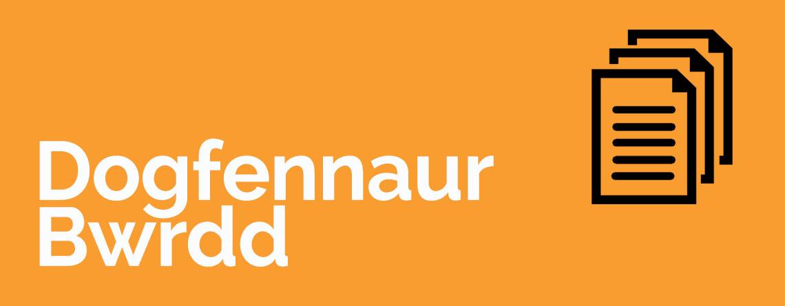 Dogfennaur bwrdd