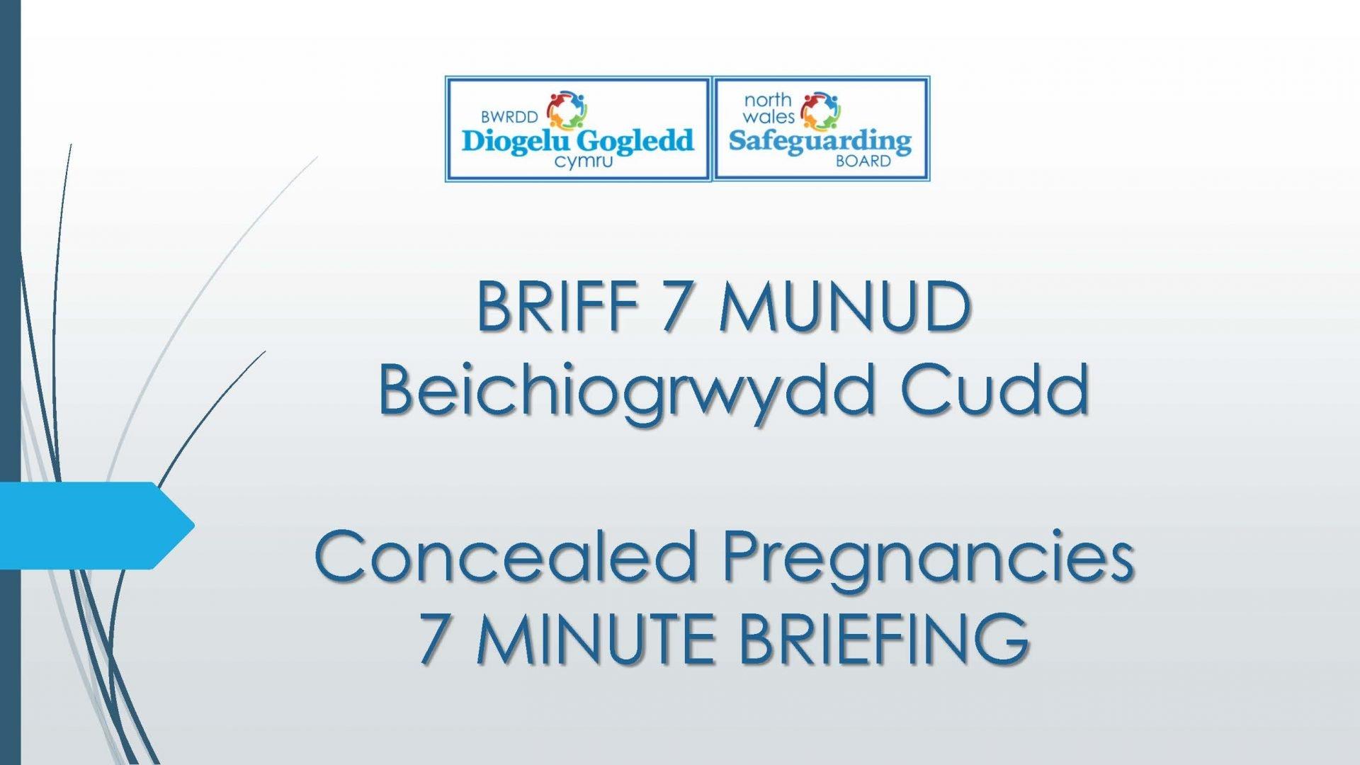 Concealed Pregnancies