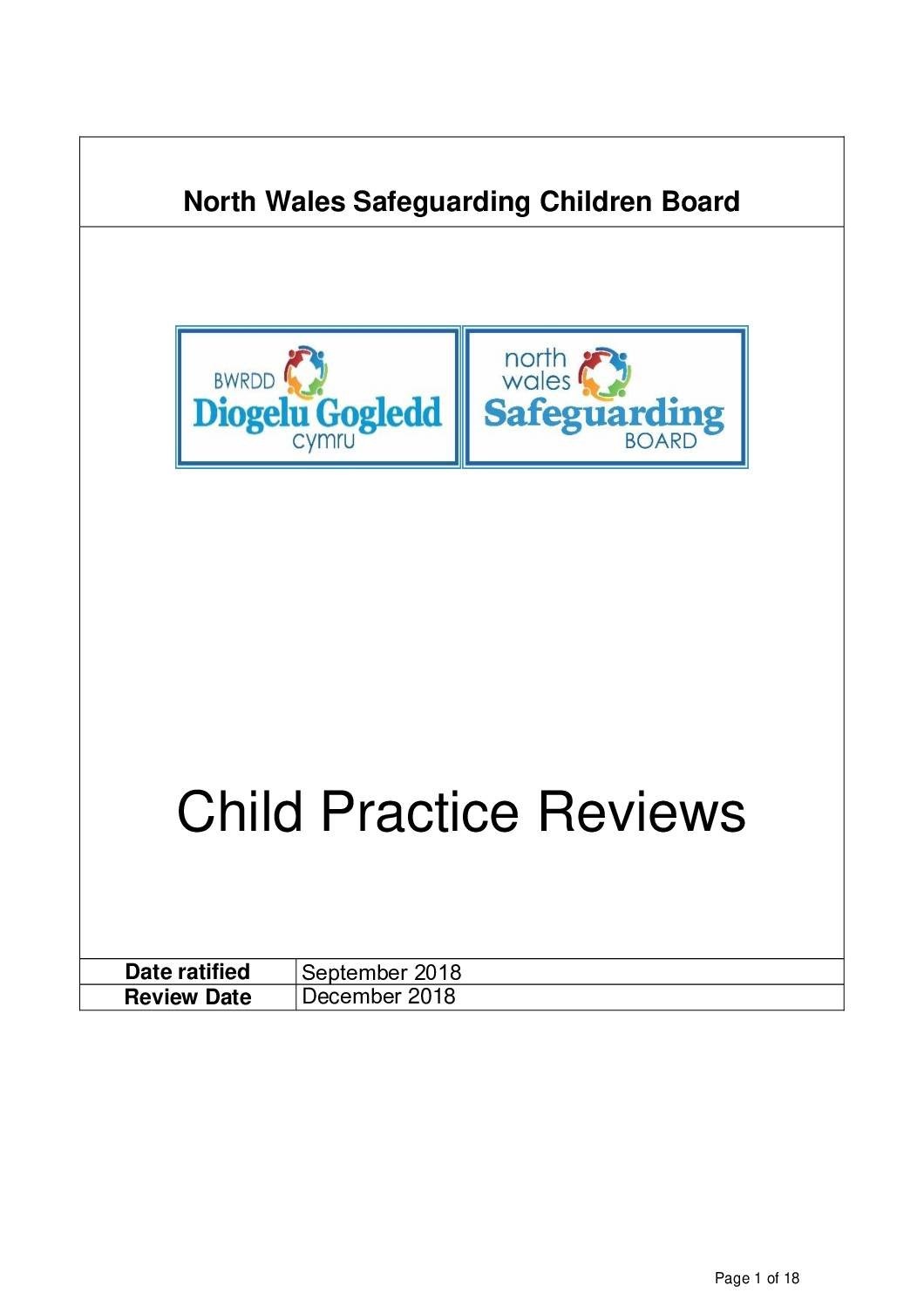 Child Practice Review Protocol