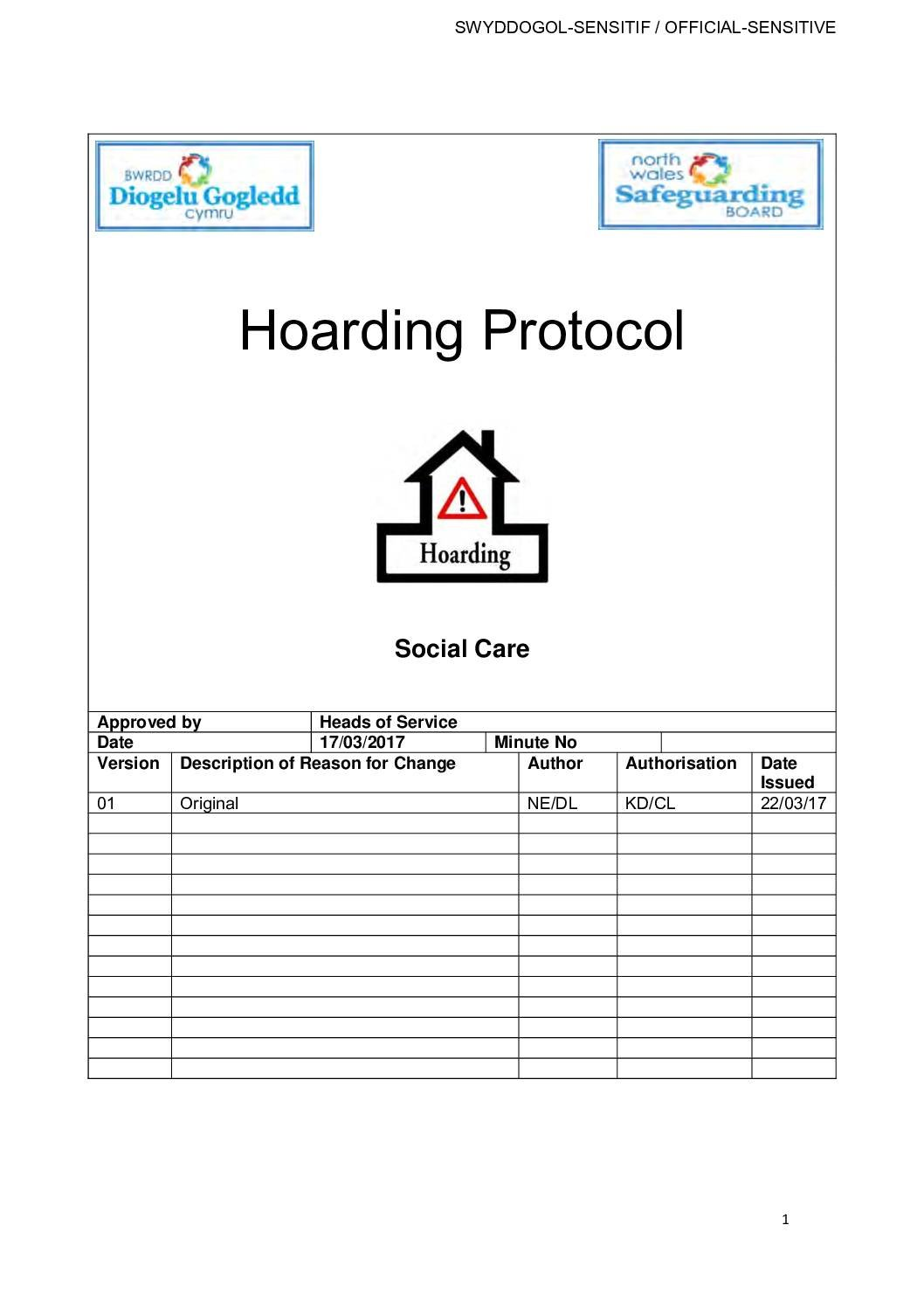 Hoarding Protocol