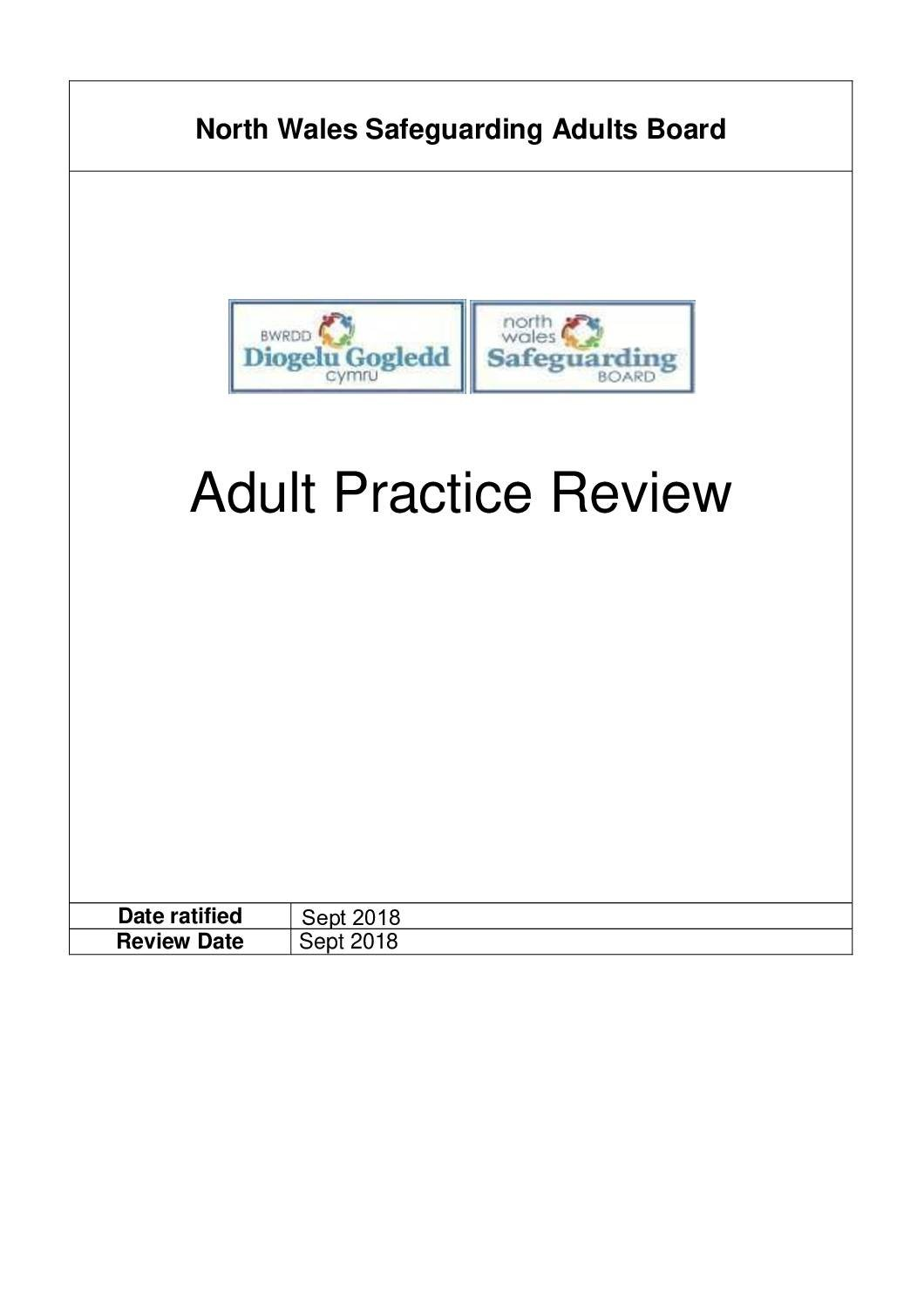 Adult Practice Review Protocol