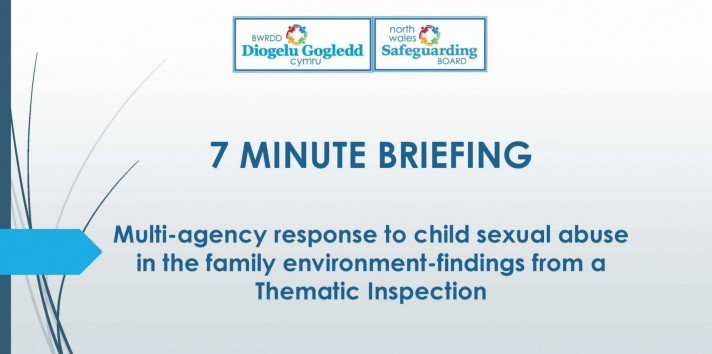 Multi-agency response to CSE in the family environment