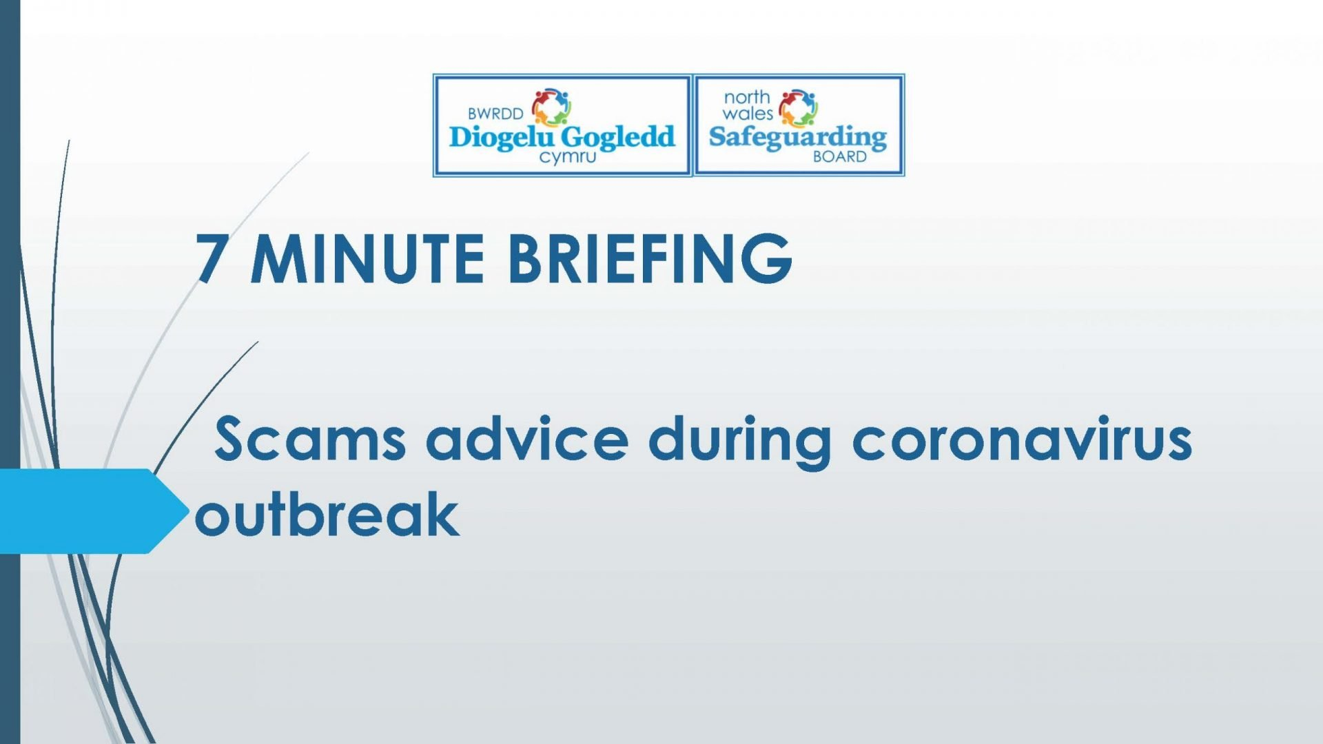 7 minute briefing scams during Coronavirus outbreak