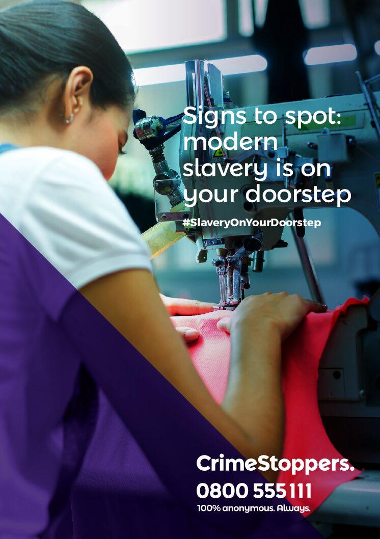 Modern Slavery – Spot the signs
