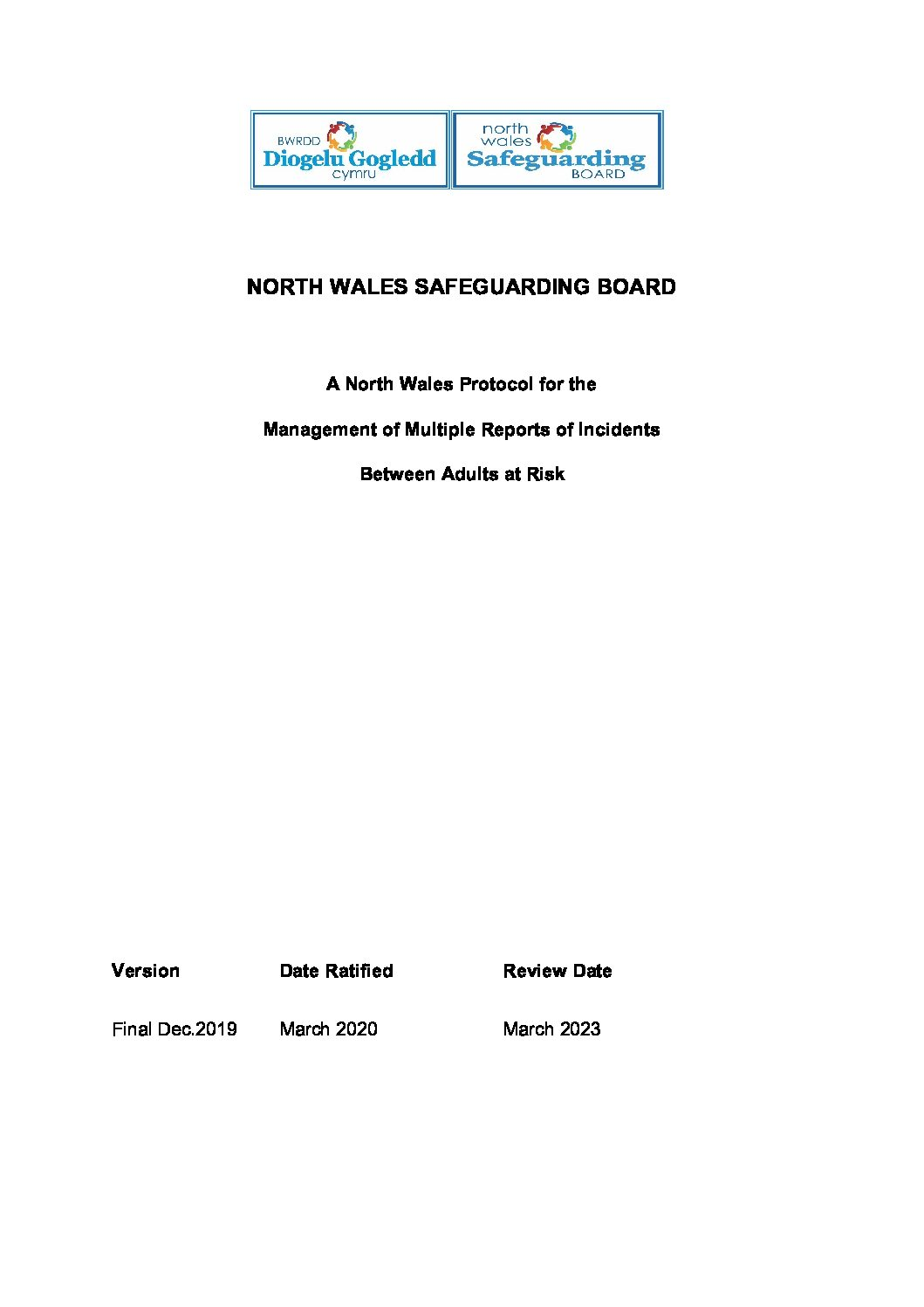 NWSAB Protocol for Managing Multiple Reports