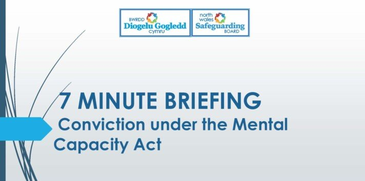 Conviction under the Mental Capacity Act