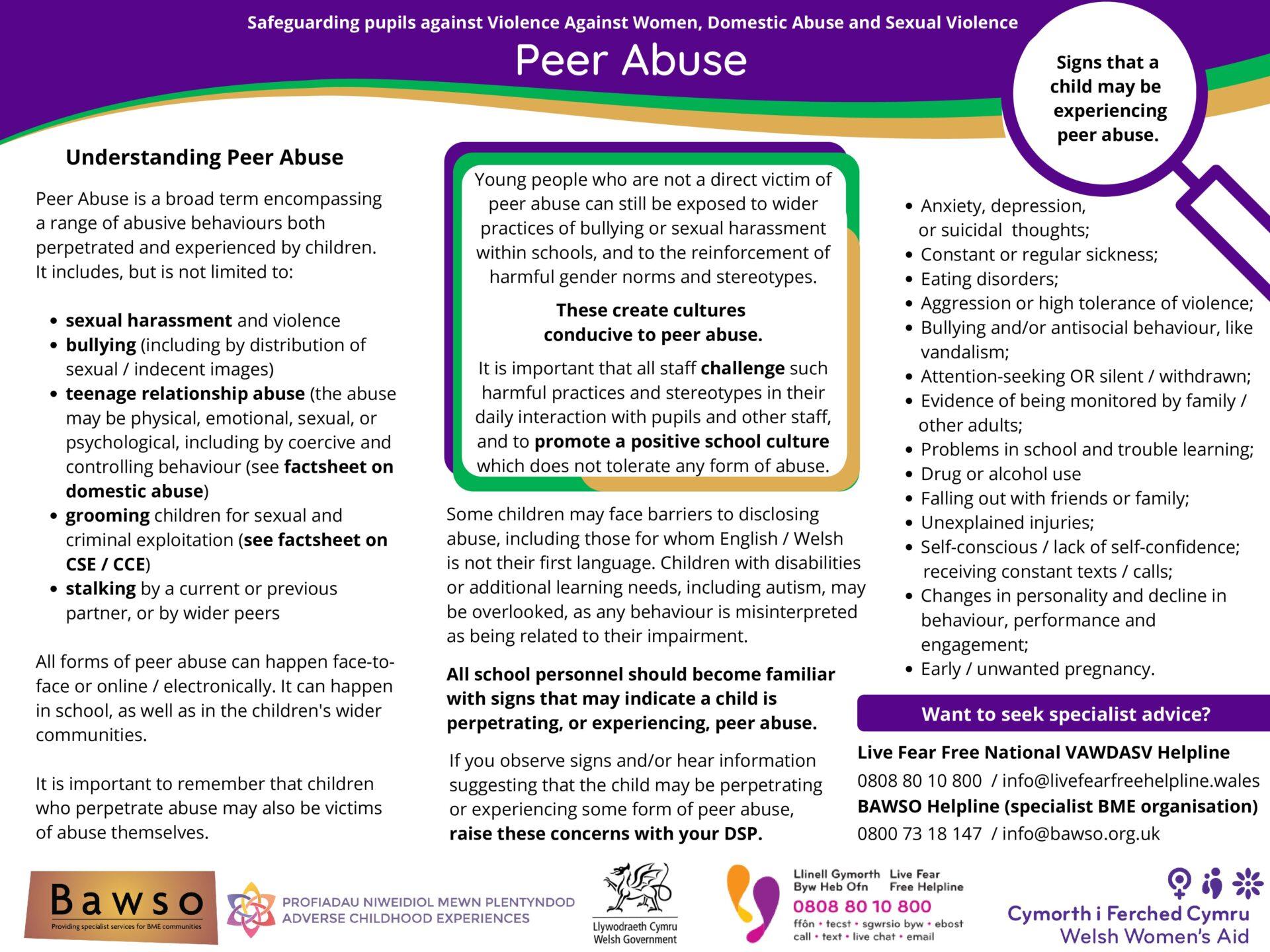Peer Abuse