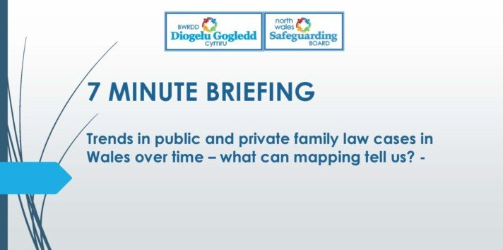 Trends in public and private family law cases in Wales over time