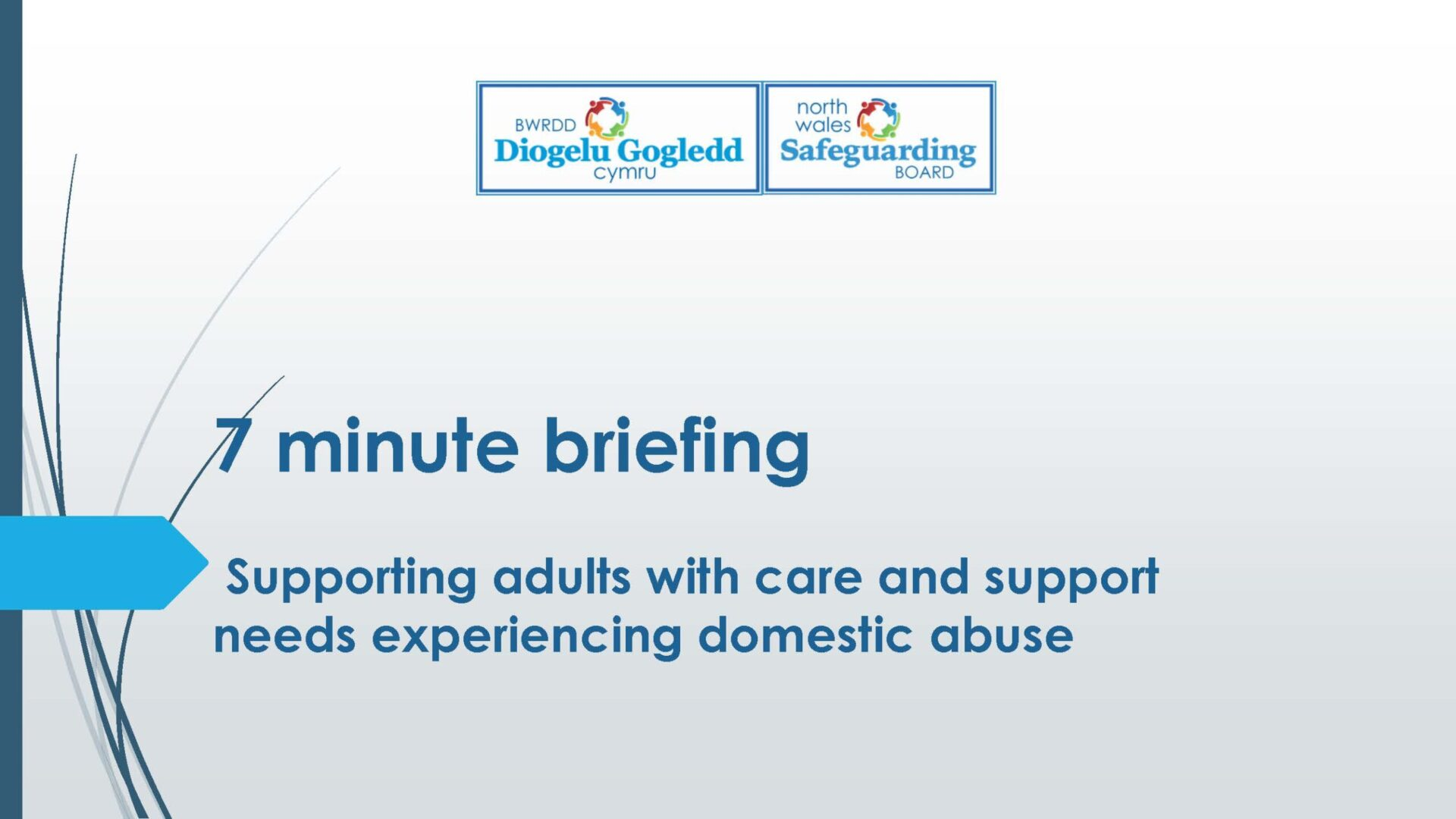 Supporting adults with care and support needs experiencing domestic abuse